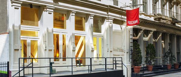 Foscarini Spazio Soho: il design italiano conquista New York