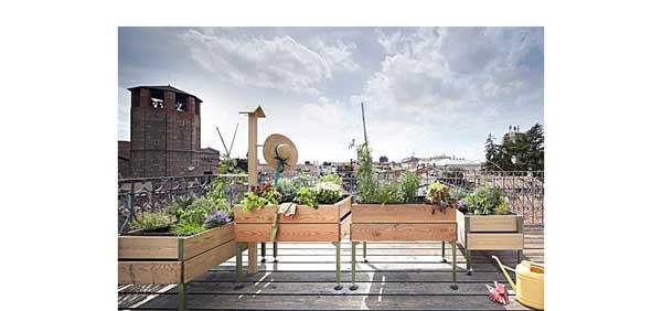 Orto in terrazzo con il VegeTable