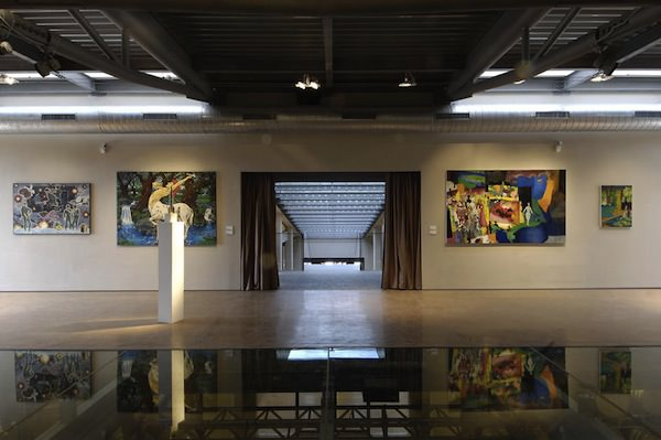 Sala espositiva Cantina Icario