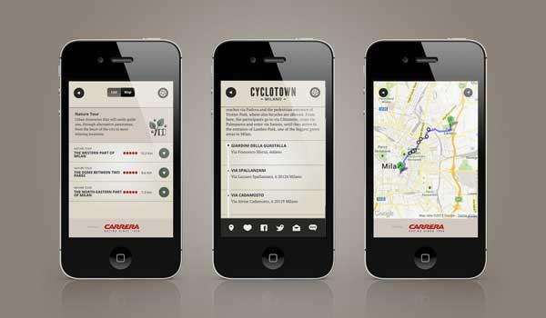 Arriva CycloTown: la nuova App per chi va in bici a Milano