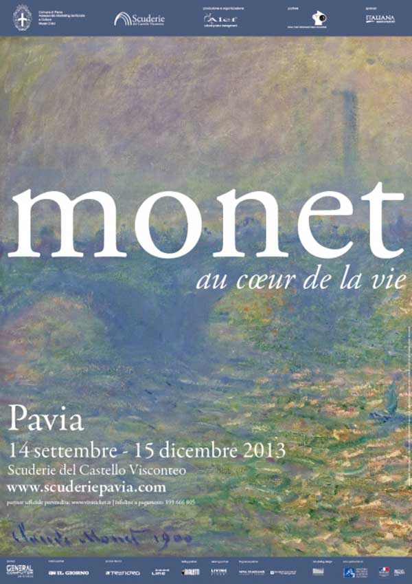 Monet in mostra a Pavia