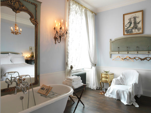 Bagno Romantico Chic : Arredare la casa in stile shabby chic viviconstile