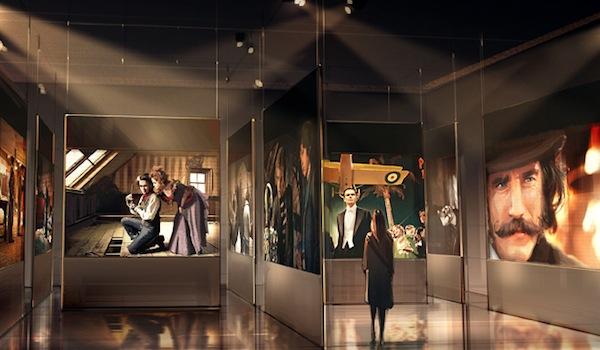 Lo scenografo italiano Dante Ferretti in mostra al MoMa di New York