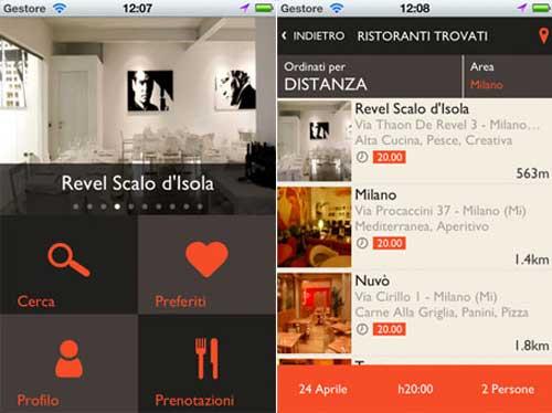 MiSiedo, l'app che cambia il modo di prenotare il ristorante