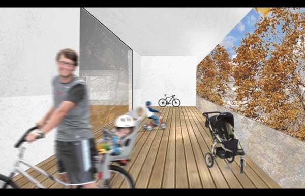 Fahrradloft il condominio a misura di bici di Berlino