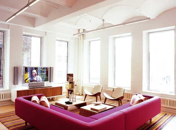 Cinque idee per arredare la casa con i colori