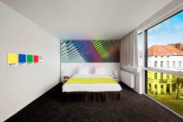 Pantone Hotel a Bruxelles
