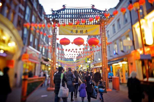 Weekend a Londra per festeggiare il Capodanno cinese
