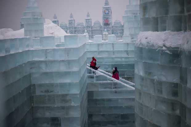 Ice art – le sculture di ghiaccio più spettacolari del mondo