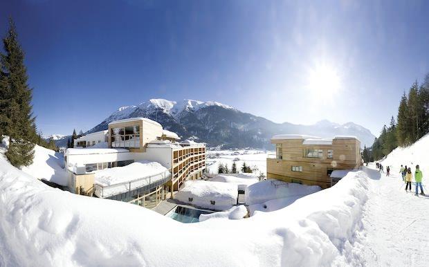 DAS KRONTHALER, hotel di benessere in stile alpino