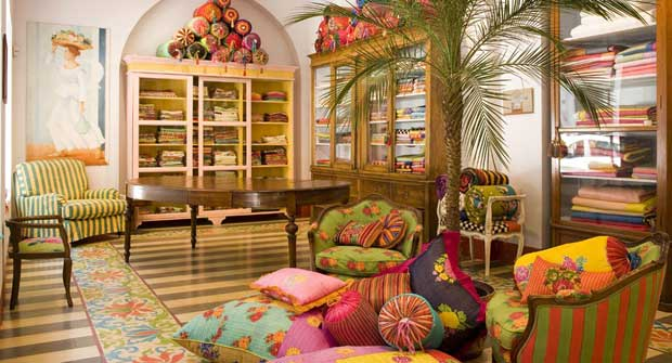Lisa Corti Home Textile Emporium – arredare la casa in stile etnico