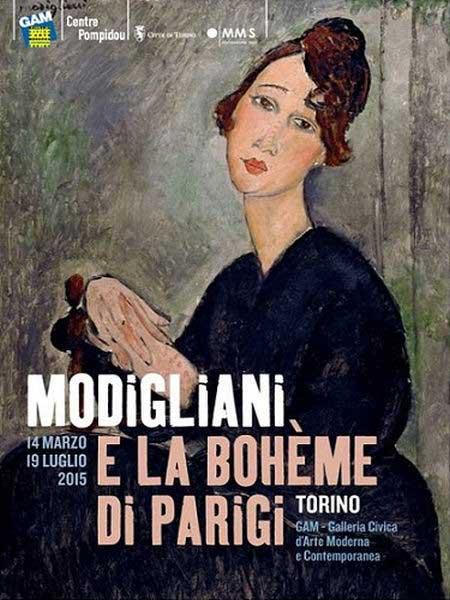 Modigliani e la Bohème di Parigi – la mostra alla GAM di Torino