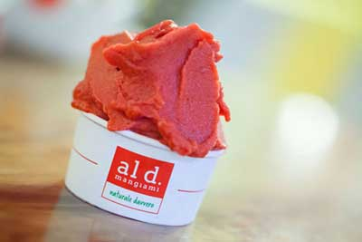 La prima gelateria italiana con lavorazione ad azoto liquido