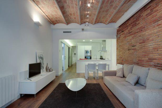 Vivere open space: la cucina entra nel salotto   Viviconstile