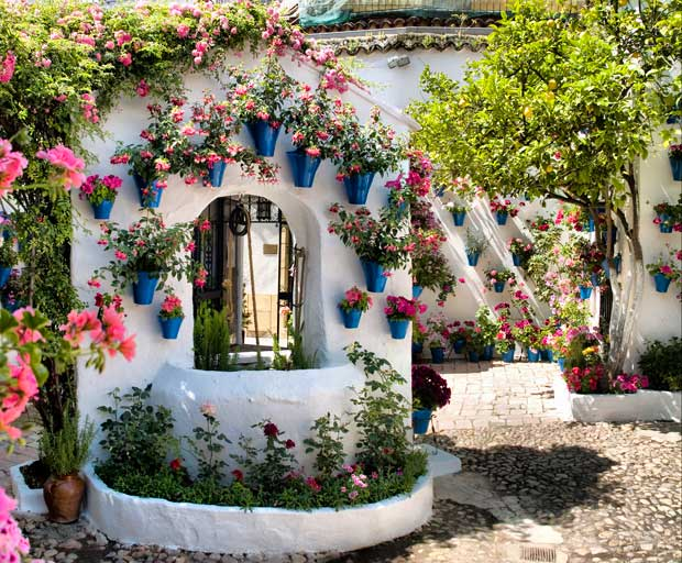 Il Festival dei Patii in fiore a Cordova in Andalusia