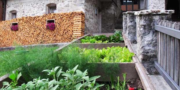 Gli orti di Mezzano di Primiero in Trentino