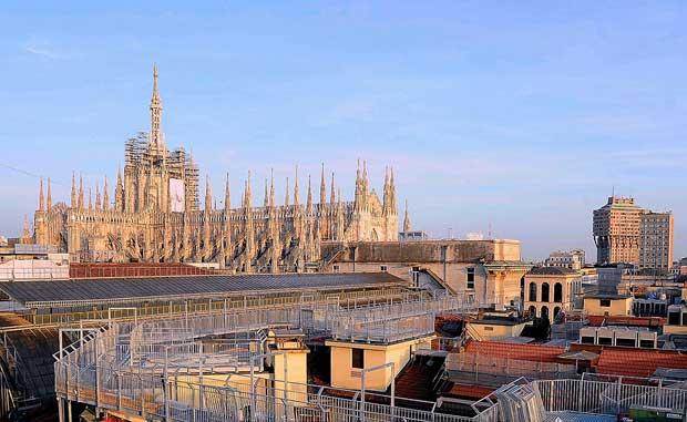 Highline Galleria, la nuova passerella sopra Galleria Vittorio Emanuele II a Milano