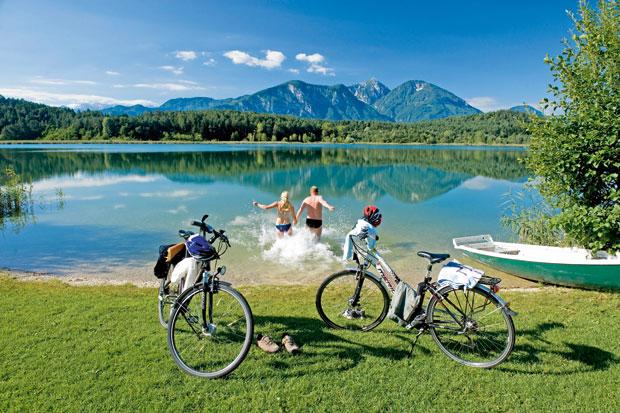 Carinzia in bicicletta, tra monti, laghi e buona cucina