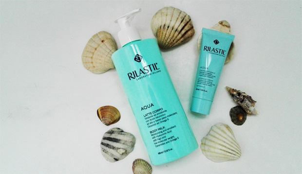 Latte corpo e crema viso Rilastil Aqua: pelle idratata e giovane aspettando l'inverno