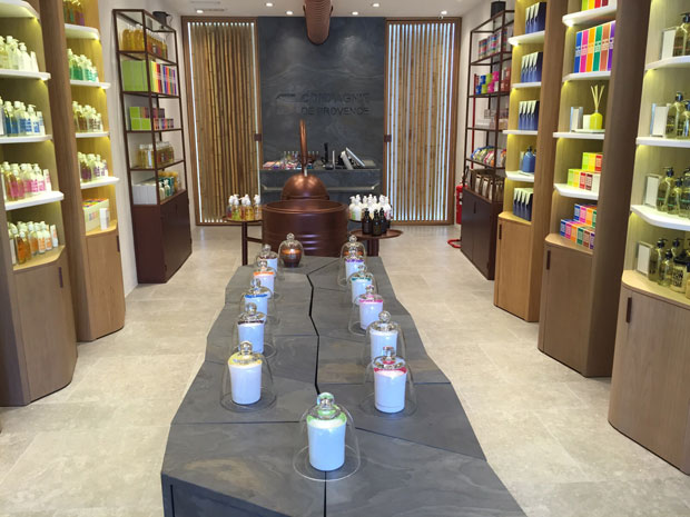 Il nuovo flagship store di Compagnie de Provence a Milano