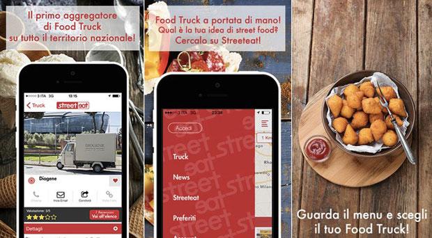 Streeteat, la prima app per trovare il food truck più vicino (e non solo)