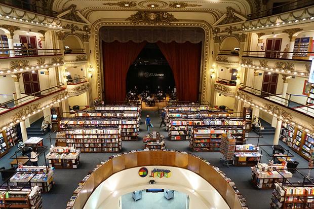 El Ateneo – la libreria più bella di Buenos Aires