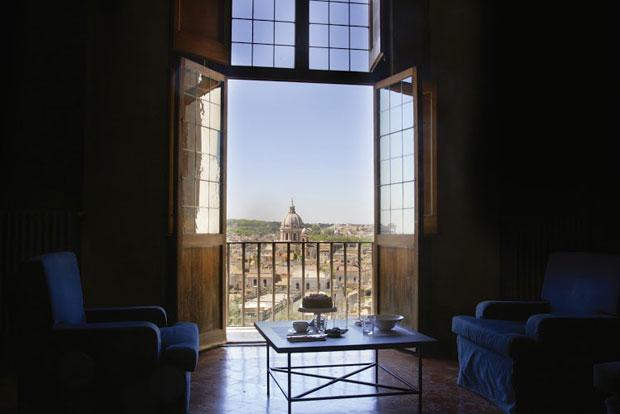 Colbert il nuovo bistrot di Villa Medici a Roma