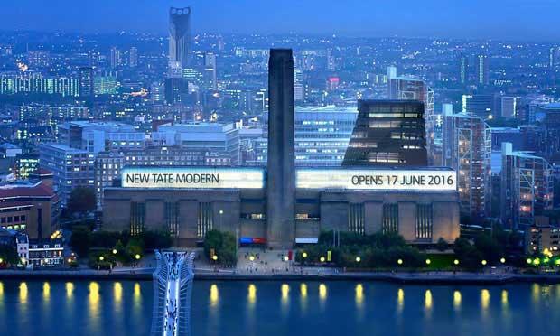 Apre la nuova Tate Modern di Londra – il museo d'arte contemporanea più visitato del mondo