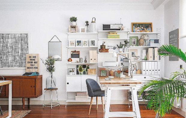 Come organizzare un ufficio in casa di stile e funzionale