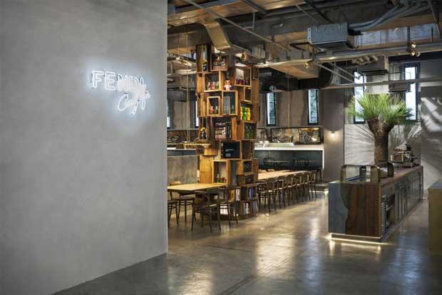 Fendi Caffè a Roma – locale trendy al Palazzo della Civiltà Italiana