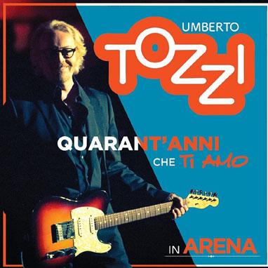 Il nuovo lavoro di Umberto Tozzi – Quarant'anni che ti amo in Arena