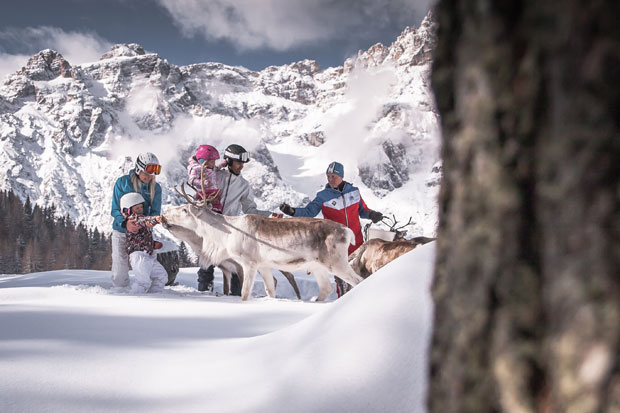 Ultima neve dell'anno con il sole di primavera: sci e benessere nella Terra delle Tre Cime