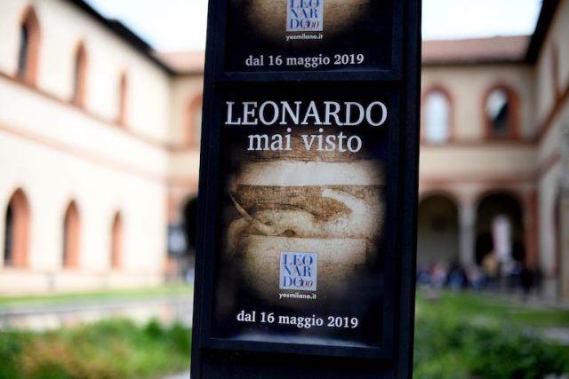 Mai visto così Leonardo da Vinci a Milano