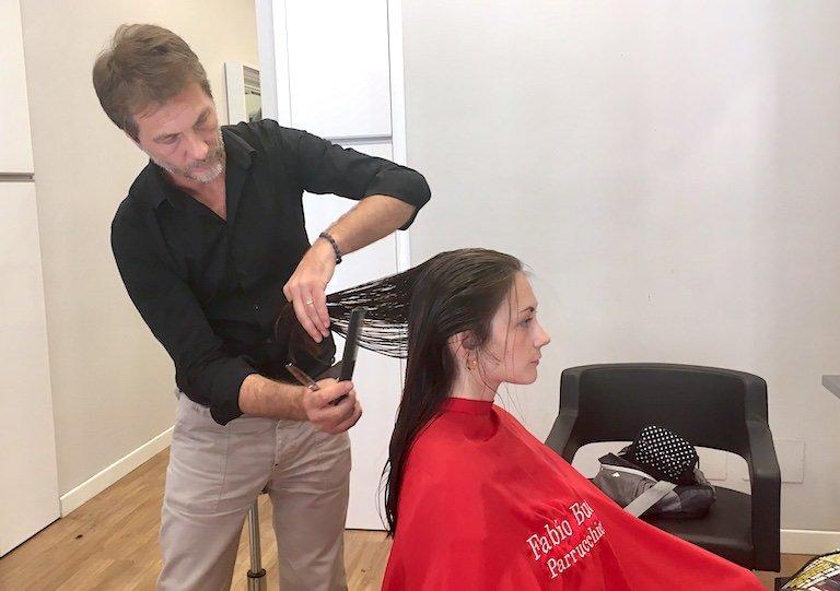 Tecnica del taglio dei capelli