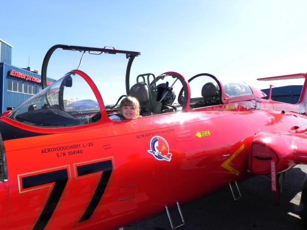Girl in a Jet