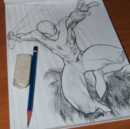 Spidey, the sketch is 99% complete