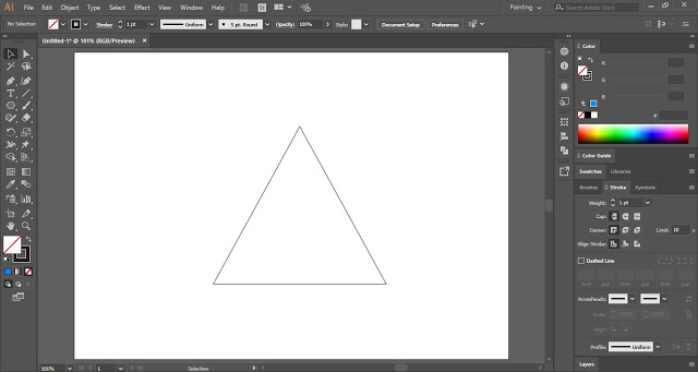 Draw a Triangle