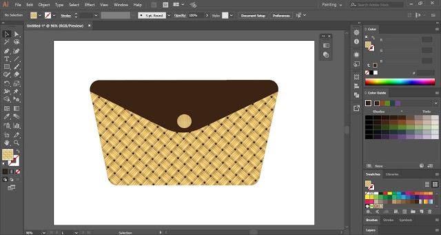 Weave Pattern in Adobe Illustrator
