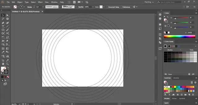 Offsets Path in Adobe Illustrator