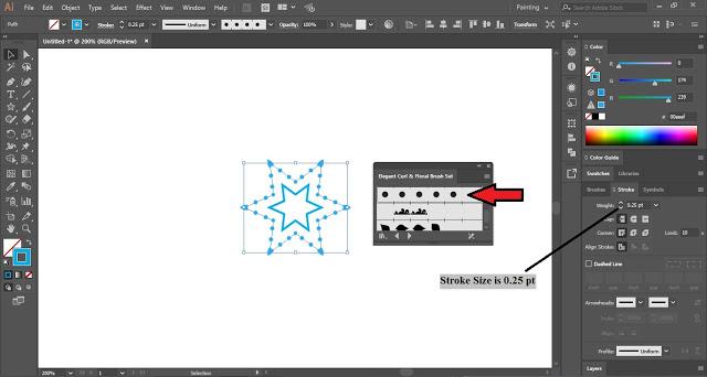 Snowflakes in Illustrator