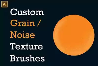 Custom Grain Noise Texture Brushes