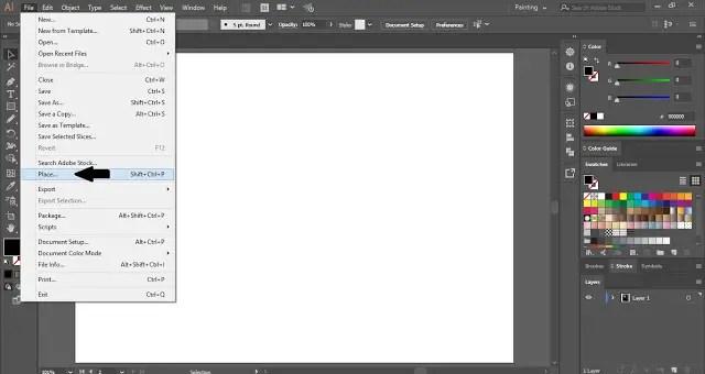 Text Masking Effect in Adobe Illustrator