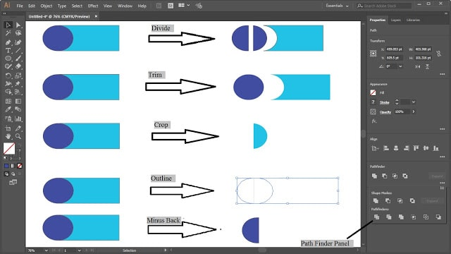 Basic Panels of Adobe Illustrator