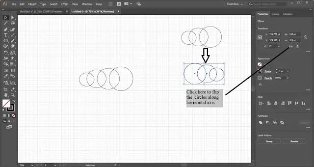 Cloud shape in Adobe Illustrator
