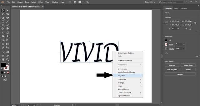 3D Tube Text Effect in Adobe Illustrator