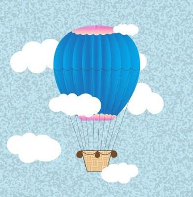 Hot Air Balloon in Adobe Illustrator