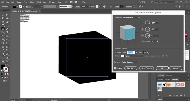 How to Add Text on 3D Shape in Adobe Illustrator