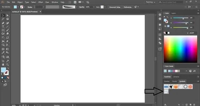 How to create Vortex in Adobe Illustrator?