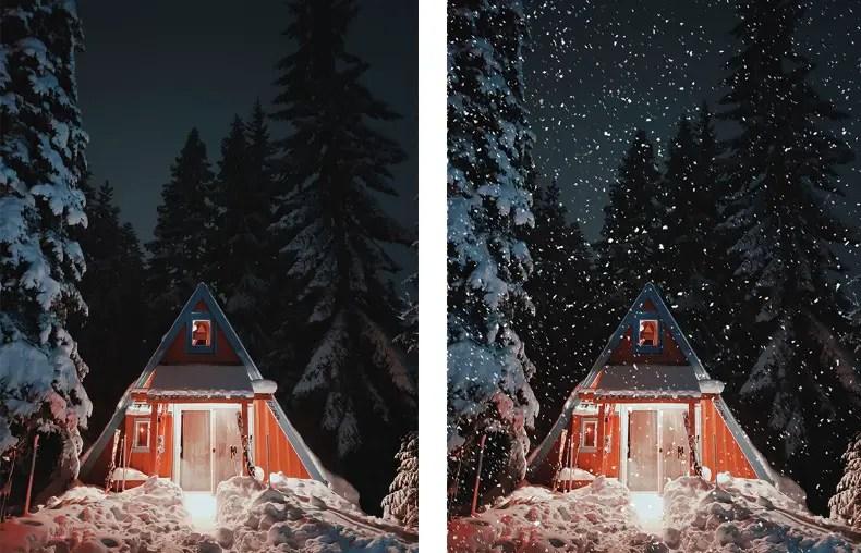 Photoshop Snow Effect