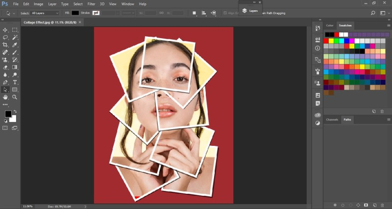 Collage in Photoshop